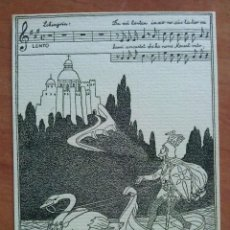Arte: EX LIBRIS - DE ADE MATHILDE A JORGE MONSALVATGE. Lote 143029474