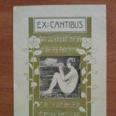 Arte: EX CANTIBUS - DE ENRIQUE MOYA MARTÍ A JORDI MONTSALVATJE. Lote 143029738