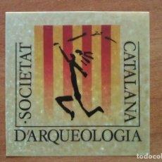 Arte: EX LIBIRS SOCIETAT D´ARQUELOGIA CATALANA. Lote 143046586