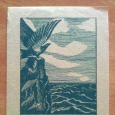 Arte: EX LIBRIS 1910 DE FRIEDRICH HAFFECKE PARA ALBERT TGROTH. Lote 143046906