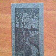Arte: EX LIBRIS EMMA FEUERBACH. Lote 143047082