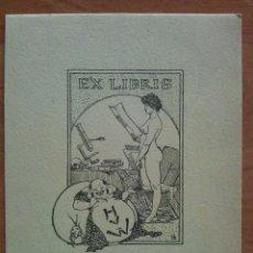 Arte: EX LIBRIS H V W. Lote 143047266