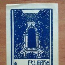 Arte: EX LIBRIS ADA BURESO VA. Lote 143047346