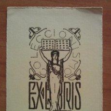 Arte: EX LIBRIS - VICENTE MARTINEZ BOSCH. Lote 143048642