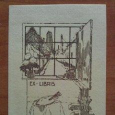 Arte: EX LIBRIS U. WERNAERS. Lote 143050146