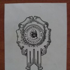 Arte: EX LIBRIS EDITORIAL MAGISTER - BARCELONA. Lote 143050202