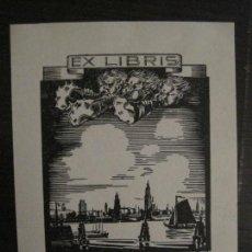 Arte: EX LIBRIS-YVONNE FESINGHER-VER FOTOS-(X-2430). Lote 146288630