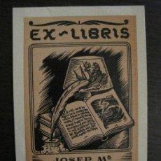 Arte: EX LIBRIS-JOSEP Mª PARERA TOMAS-VER FOTOS-(X-2440). Lote 146290518