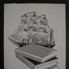 Arte: EX LIBRIS-H.HAMMING-VER FOTOS-(X-2443). Lote 146291098