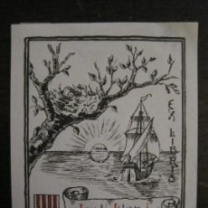 Arte: EX LIBRIS-JORDI LLOP I MARTORELL-VER FOTOS-(X-2444). Lote 146291246