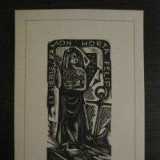 Arte: EX LIBRIS-RAMON HORTA FELIP-VER FOTOS-(X-2472). Lote 147059354
