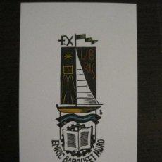 Arte: EX LIBRIS-ENRIC BARRUFET MURO-VER FOTOS-(X-2477). Lote 147062914