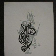 Arte: EX LIBRIS-DR JOAN CATASUS-VER FOTOS-(X-2494). Lote 147065506