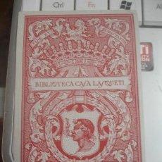 Arte: BIBLIOTECA CASA LASQUETI - PORTAL DEL COL·LECCIONISTA . Lote 147444858