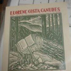 Arte: EX-LIBRIS LLORENÇ COSTA CANUDES - PORTAL DEL COL·LECCIONISTA *****. Lote 147446218