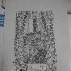 Arte: EX-LIBRIS MANGIS PORTAL DEL COL·LECCIONISTA *****. Lote 147446786