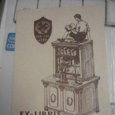 Arte: EX-LIBRIS MN. VILA TIBAU - PORTAL DEL COL·LECCIONISTA *****. Lote 147447238
