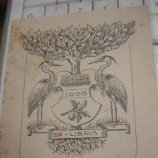 Arte: EX-LIBRIS 1000 - PORTAL DEL COL·LECCIONISTA *****. Lote 147448098