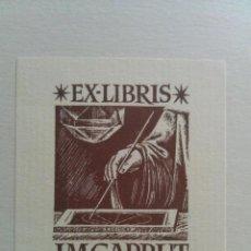 Arte: EX LIBRIS LA BIBLIOTECA DEL DUQUE DE CALABRIA - J. M. GARRUT. Lote 152225650