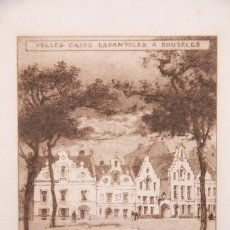Arte: EXLIBRIS / EX LIBRIS GRABADO ENMARCADO - JOAN BAUCIS - BRUSELAS. DISEÑO DE LOUIS TITZ, 1919. Lote 155928566