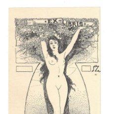 Arte: EX- LIBRIS.- VILMOS ZOLNAY . Lote 158273874