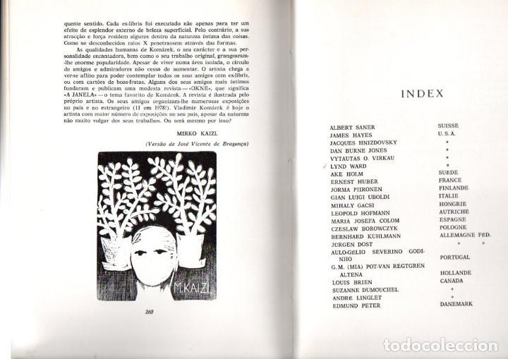 Arte: ARTISTI DELL EXLIBRIS IV (PORTO, 1978) CON 124 EXLIBRIS ORIGINALES ENCARTADOS - EDICIÓN NUMERADA - Foto 3 - 158555282