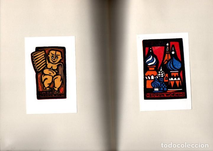 Arte: ARTISTI DELL EXLIBRIS IV (PORTO, 1978) CON 124 EXLIBRIS ORIGINALES ENCARTADOS - EDICIÓN NUMERADA - Foto 4 - 158555282