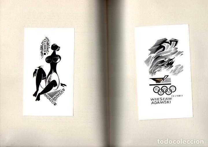 Arte: ARTISTI DELL EXLIBRIS IV (PORTO, 1978) CON 124 EXLIBRIS ORIGINALES ENCARTADOS - EDICIÓN NUMERADA - Foto 5 - 158555282
