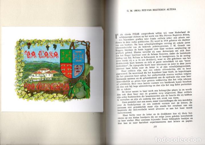 Arte: ARTISTI DELL EXLIBRIS IV (PORTO, 1978) CON 124 EXLIBRIS ORIGINALES ENCARTADOS - EDICIÓN NUMERADA - Foto 6 - 158555282