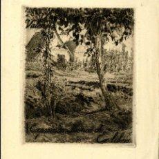 Arte: ESTEVE BOTEY. EX LIBRIS EXPOSICIÓN IBÉRICA DE EX LIBRIS. Lote 161249018