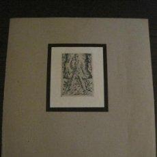 Arte: EX LIBRIS-GRABADO AGUAFUERTE ORIGINAL-DR LENKE-VER FOTOS-(X-2537). Lote 161692954