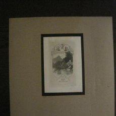 Arte: EX LIBRIS-A.STEININGER-GRABADO AGUAFUERTE ORIGINAL-DOCTOR HEINRICH KRUKL-VER FOTOS-(X-2541). Lote 161693870