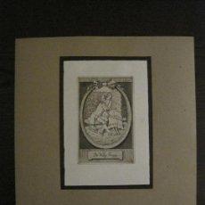 Arte: EX LIBRIS-MEPH-GRABADO AGUAFUERTE ORIGINAL-DR WILLY TROPP-VER FOTOS-(X-2542). Lote 161694194