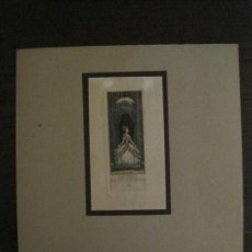 Arte: EX LIBRIS-WILM-GRABADO AGUAFUERTE ORIGINAL-GERDA WEICHSEL-VER FOTOS-(X-2547). Lote 161695654