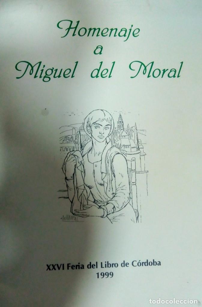 CÓRDOBA HOMENAJE A MIGUEL DEL MORAL (Arte - Ex Libris)