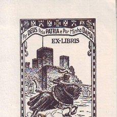 Arte: EX-LIBRIS V. SANTOS PINHEIRO. 1939. 7'8X5'6. Lote 162772314