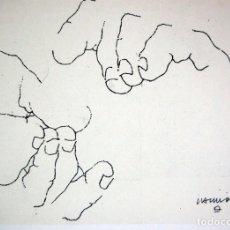 Arte: EDUARDO CHILLIDA - LITOGRAFIA OFFSET 1977 . 34 X 24 CM.. Lote 176181007