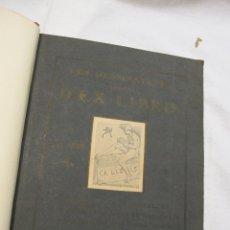Arte: SANDER PIERRON LES DESSINATEURS BELGES D'EX LIBRIS, DARAGON /HAVERMANS ,PARIS / BRUXELLES 1906. Lote 182081893