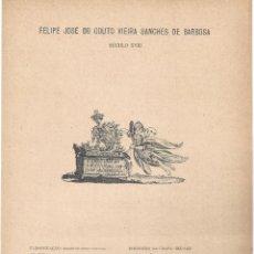 Arte: LÁMINA CON EX- LIBRIS.- FELIPE JOSÉ DO COUTO VIEIRA- 1927. Lote 182283442