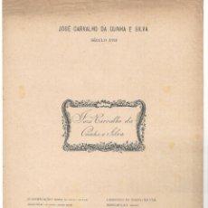 Arte: LÁMINA CON EX- LIBRIS.- JOSÉ CARVALHO DA CUNHA E SILVA- 1927. Lote 182283941