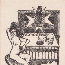 Art: EX-LIBRIS DE ORIOL MUNTANÉ PARA RAMÓN CALAHORRA DE BREA. Lote 182323738