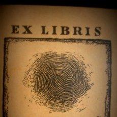 Arte: GERHARD ERICH ULTRUSQUE JURIS DOCTORIS EX-LIBRIS - PORTAL DEL COL·LECCIONISTA *****. Lote 182671818