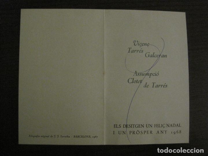 Arte: EX LIBRIS-VICENS TARRES 1967-VER FOTOS-(X-2659) - Foto 2 - 183710721