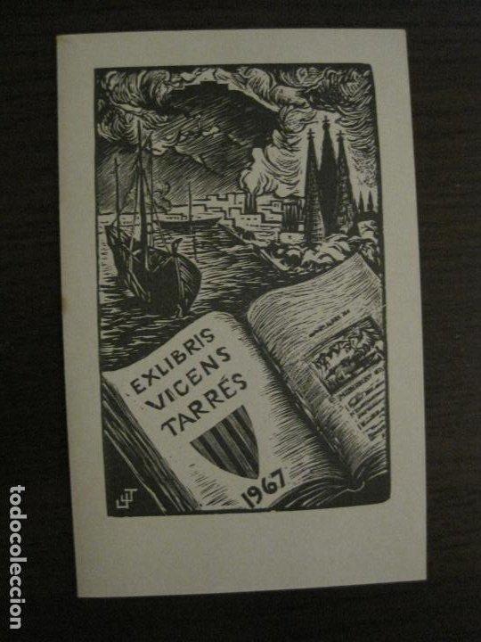 EX LIBRIS-VICENS TARRES 1967-VER FOTOS-(X-2659) (Arte - Ex Libris)