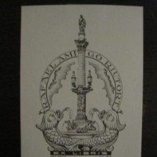 Arte: EX LIBRIS-RAFAEL AMIGO RIUTORT-ESTIARTE-VER FOTOS-(X-2661). Lote 183712203
