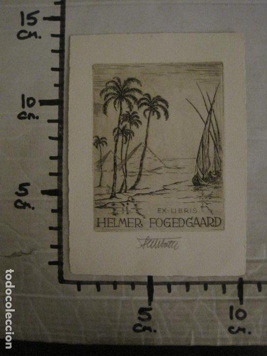 Arte: EX LIBRIS-HELMER FOGEDGAARD-F. BOTEL-VER FOTOS-(X-2675) - Foto 5 - 183714536