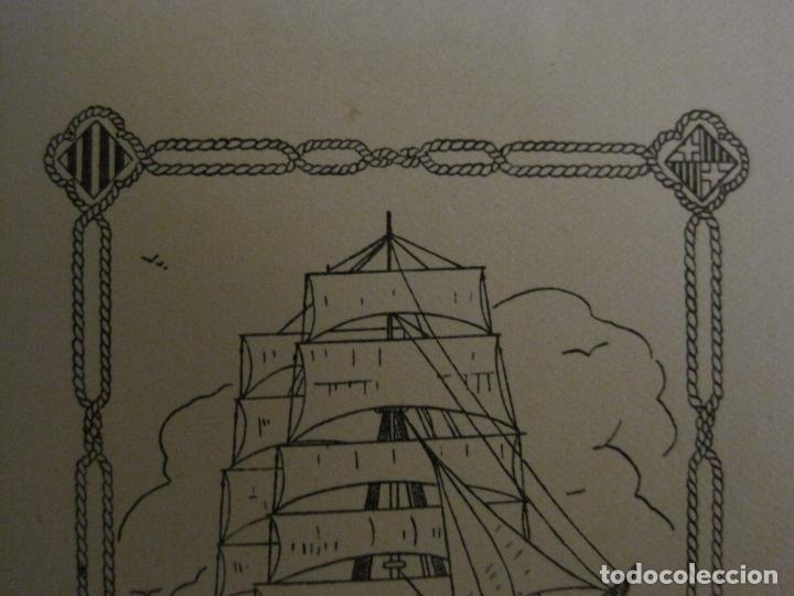Arte: EX LIBRIS-SALVADOR MIQUEL-MARIA FIGUEROLA-VER FOTOS-(X-2684) - Foto 2 - 183715933