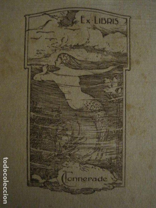 Arte: EX LIBRIS-J.CONNERADE-WERNAERS-VER FOTOS-(X-2685) - Foto 2 - 183716116
