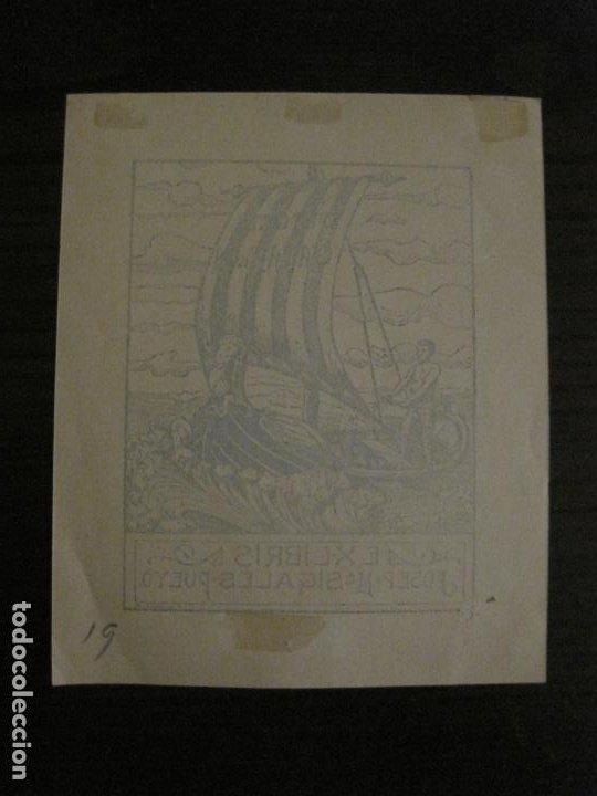 Arte: EX LIBRIS-JOSEP Mª SIGLES PUEYO-A. CASTELLO-VER FOTOS-(X-2687) - Foto 4 - 183716355