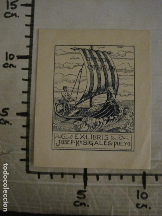 Arte: EX LIBRIS-JOSEP Mª SIGLES PUEYO-A. CASTELLO-VER FOTOS-(X-2687) - Foto 5 - 183716355